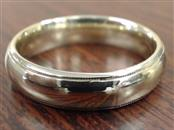 BENCHMARK COMFORT FIT 5.8mm WED RING BAND 14K GOLD 10.5g SIZE 11.75